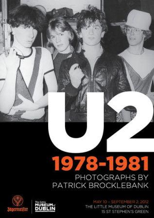 U2 early days 1978-1981 : exposition de photos à Dublin