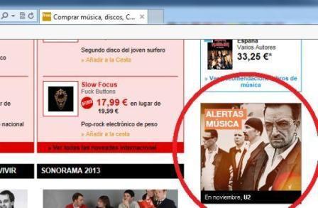 La Fnac espagnole annonce le nouvel album de U2 pour novembre (bis)