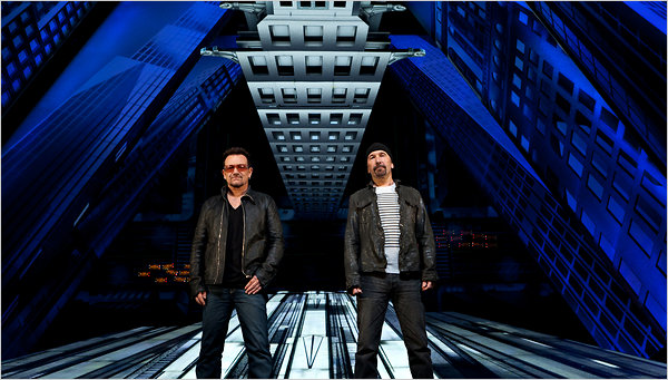 Bono et The Edge donnent leur version de l'aventure Spider-man