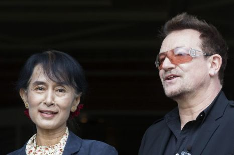 Bono et Aung San Suu Kyi : Beautiful Day (part I)