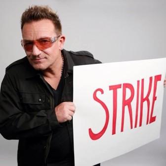 [Vidéos] Bono n'arrête pas de se mobiliser