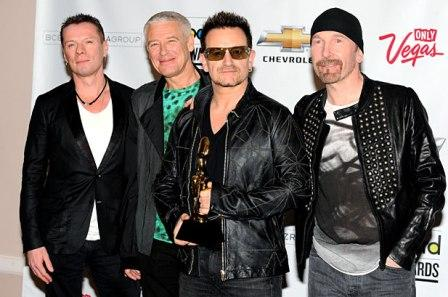 U2 nominé aux Billboard Awards