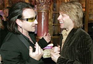 Bon Jovi invite Bono à le rejoindre sur scène à Slane Castle