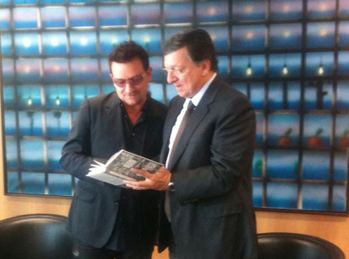 Bono à Bruxelles
