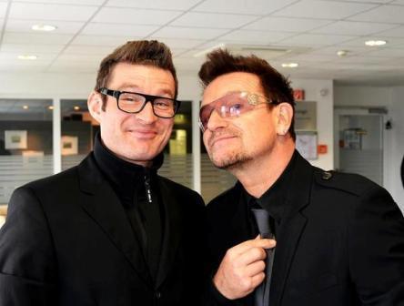 Bono à Berlin pour l'organisation One