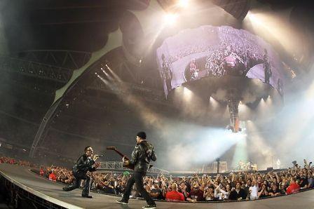 2011 année de tous les records pour le U2 360° tour