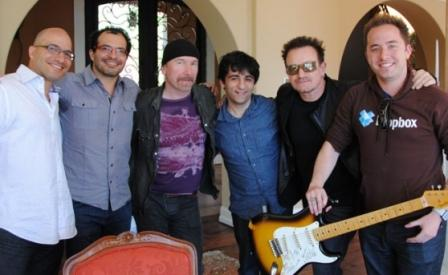 Bono et The Edge investissent dans Dropbox