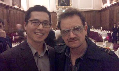 Bono soutient les entreprises irlandaises à Dublin