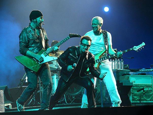 U2 groupe le mieux payé du monde pour le magazine Forbes