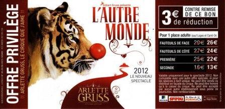 Le cirque Arlette Gruss s'offre le système d'éclairage de U2