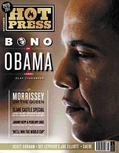 Bono parle d'Obama et des projets de U2 dans Hotpress