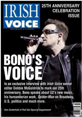 Bono à l'Irish Voice : Il y a encore de la vie dans le vieux chien !