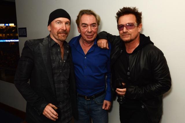 Bono et The Edge à la première de Jesus Christ Superstar