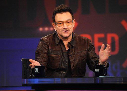 Bono au Jon Stewart show