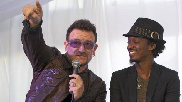 Bono sur le prochain album de K'naan