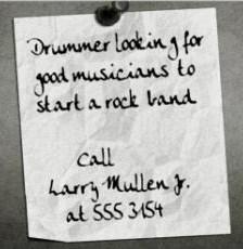 Joyeux anniversaire Larry Mullen !