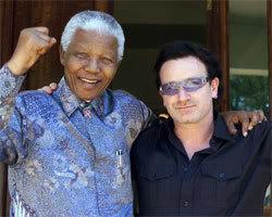 Bono au 8ème rang des personnalités les plus respectées au monde