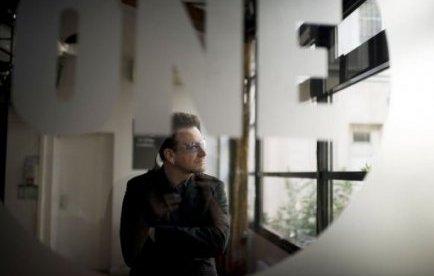 Bono au Ghana pour One