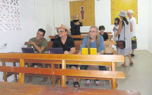 Bono en voyage au Panama