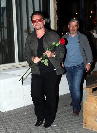 Bono en Israel