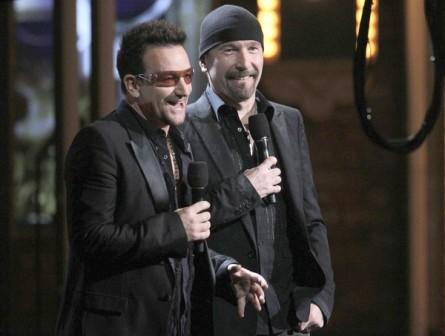 Bono et The Edge aux Tony Awards