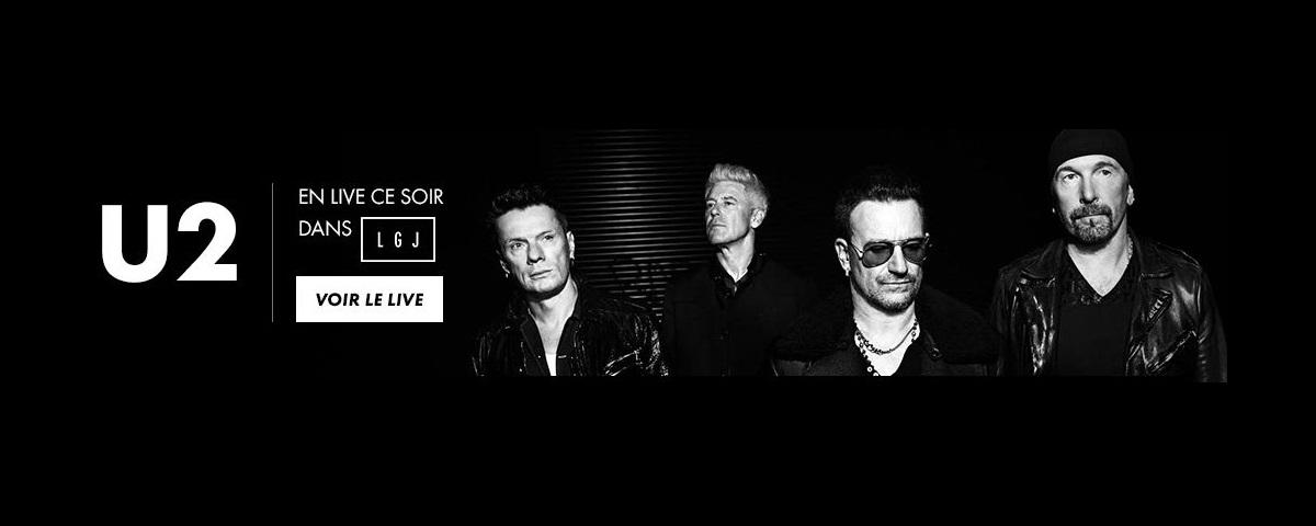 U2 au Grand Journal de Canal + : les vidéos