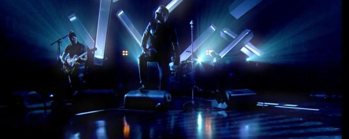 Dernière prestation de U2 sur la BBC