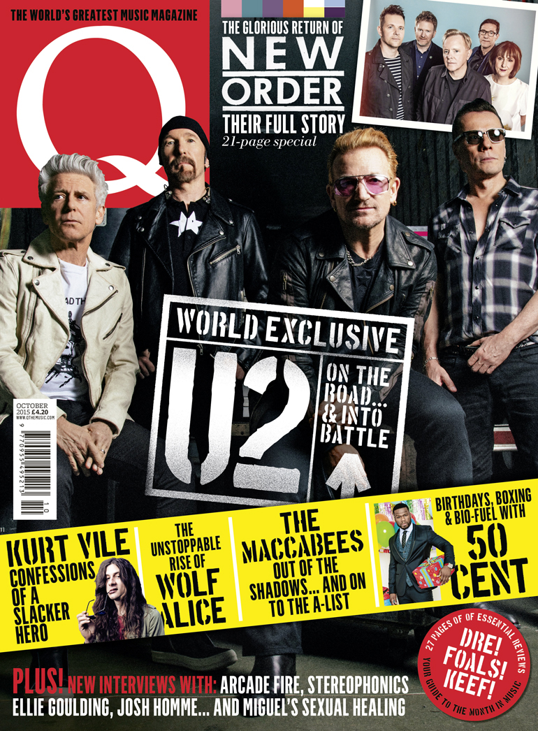 U2 en interview dans Q Magazine