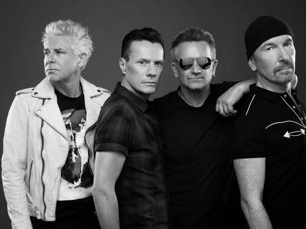 U2 dans l'émission TFI Friday