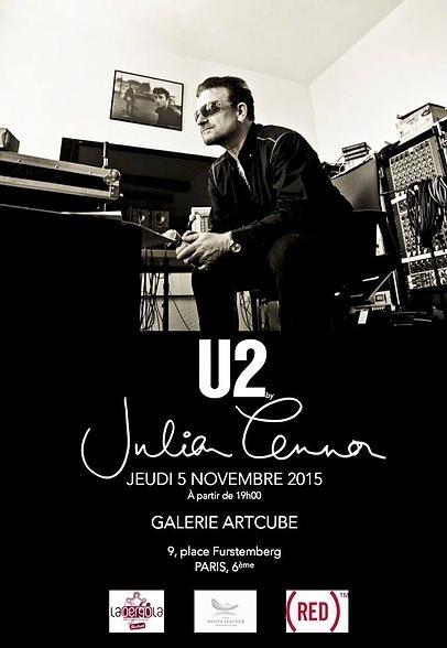 U2 en photos à la galerie Artcube (Paris) à partir du 5 novembre 2015