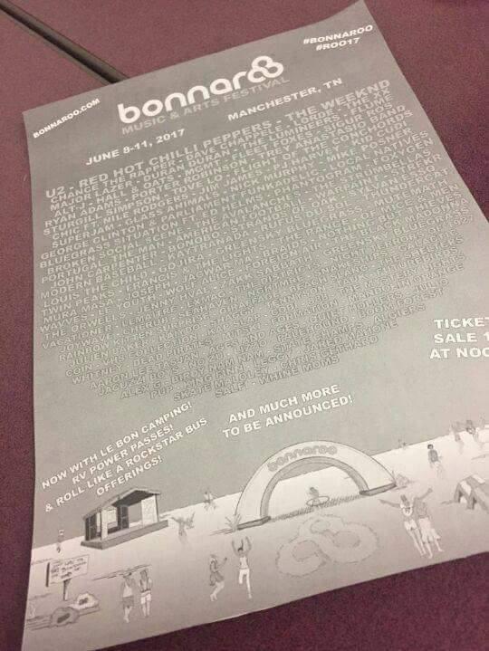 [Rumeur] U2 au festival Bonnaroo en juin 2017