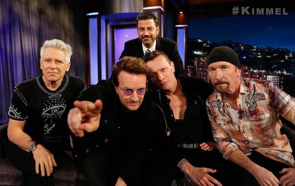 U2 chez Jimmy Kimmel !