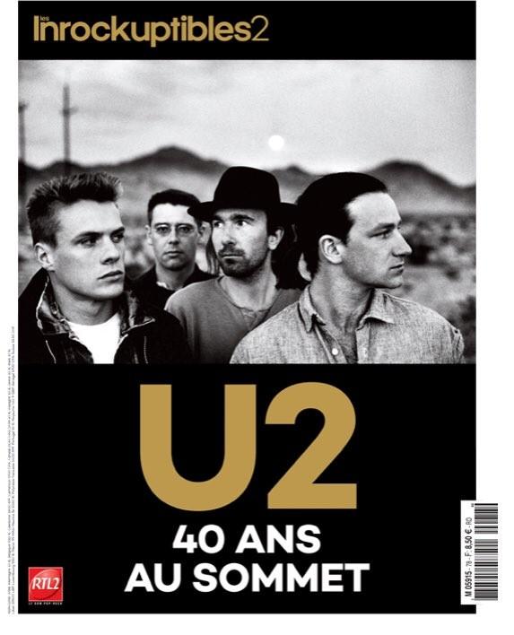 Hors série des Inrocks dédié à U2 !