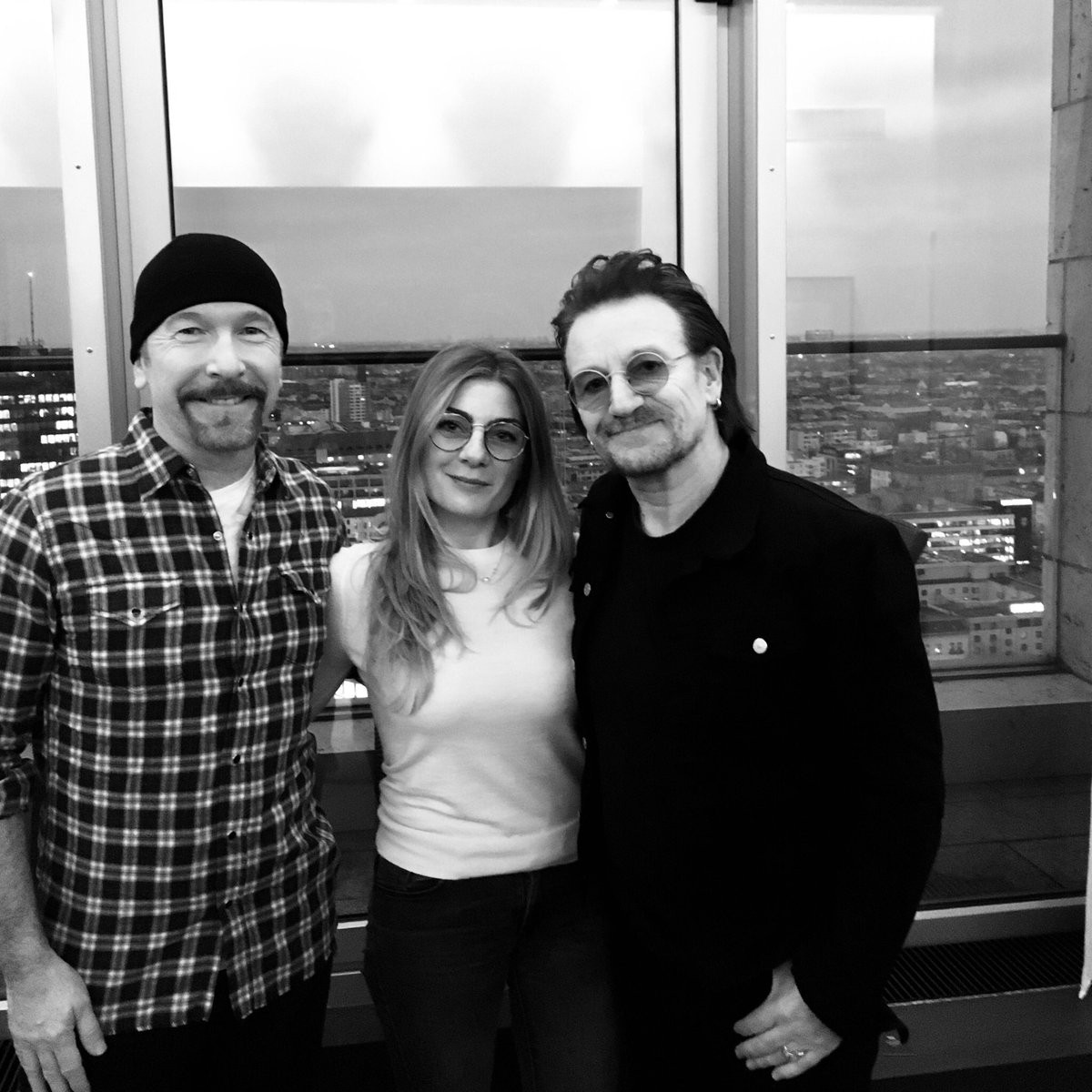 Bono et The Edge en interview sur RTL2