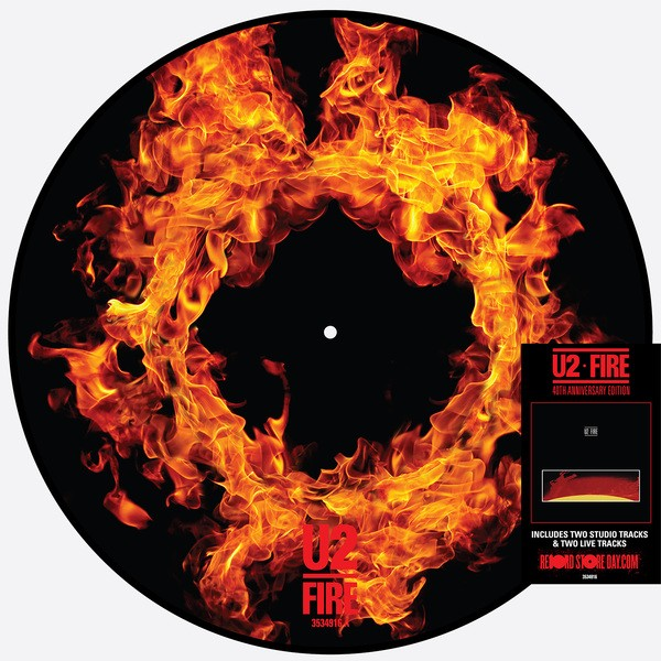 Le Picture Disc de Fire pour le Record Store Day 2021
