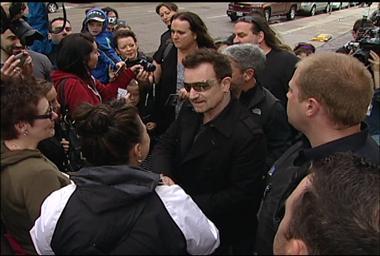 Un shooting pour les 20 ans d'Achtung Baby realisé par U2 à Winnipeg (maj)